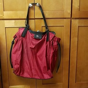 Burberry Burleigh Red Tote